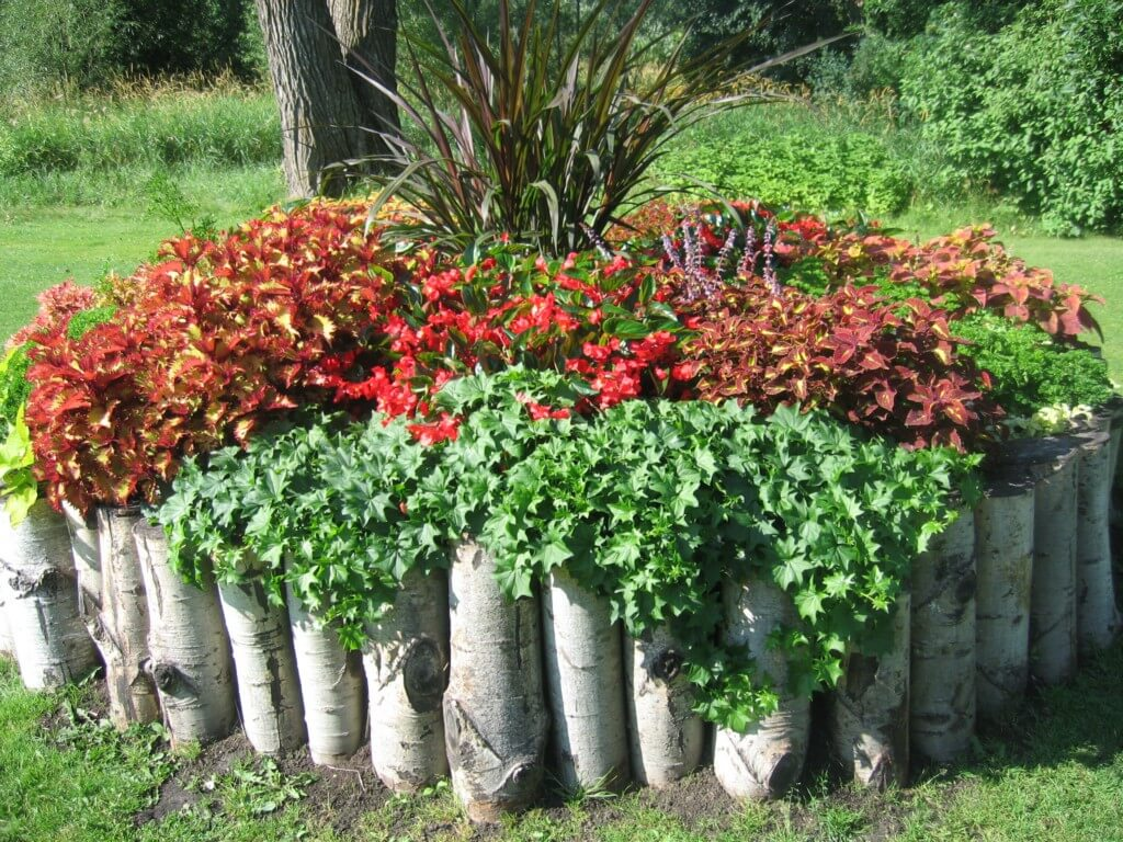flower bed ideas homebnc